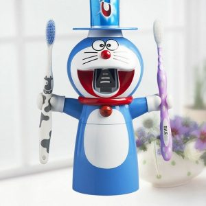 doraemon-cartoon-automatic-toothpaste-dispenser-squeezer-wall-